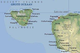 grote oceaan kaart amerika